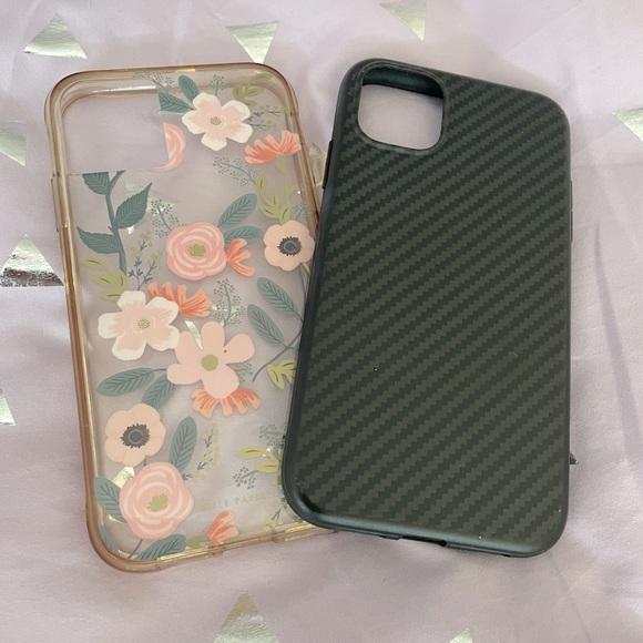 Two Iphone 11 cases